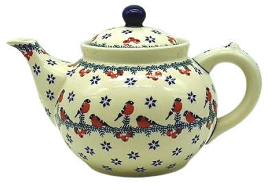 Bunzlauer Teekanne 1,2 L-C-017, Dekor Gila
