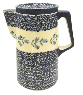 Bunzlauer Kaffeekanne 2,1 L-C-041, Dekor Agnes