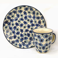 Polish-Pottery-design-cornflower