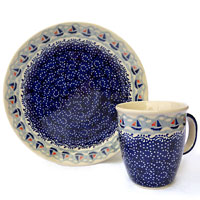 Polish Pottery design Ahoi