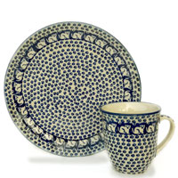 Polish Pottery design Garfield