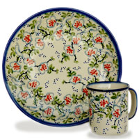 Polish Pottery design Capri
