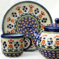 Polish Pottery design Levi
