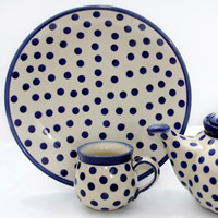 Polish Pottery Polka design