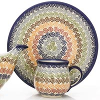 Polish Pottery Pastelka design