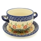 Preview: Polish Pottery soup dish Dekor Adelheid