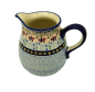 Preview: Polish Pottery jug one pint Azur design
