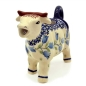 Preview: Polish Pottery Cow Creamer - Pattern Agnes