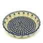 Preview: Polish-Pottery-Pie-Dish-Medium-Design-Polka