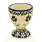 Preview: Polish-Pottery-egg-cup-field-of-flowers-pattern