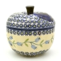 Mobile Preview: Polish Pottery apple baker Agnes design