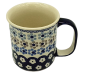 Preview: Polish Pottery Mug Straight - Pattern Leonie