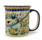 Preview: Polish Pottery, straight mug for 220 ml, large handle, Storch design