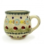 Preview: Polish Pottery Mug Round (s) - Pattern Ladybird