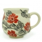 Preview: Polish Pottery Belly mug medium in Pattern Angela