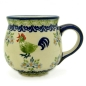 Preview: Polish Pottery Belly Mug (m) Pattern Bianca