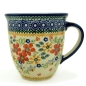 Preview: Polish Pottery Mug 'Mars' (l) Pattern Cornelia