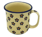 Preview: Polish Pottery Mug Straight (l) - Pattern Margarete