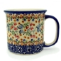Preview: Polish Pottery straight mug large, Florac design
