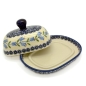 Preview: Polish Pottery Butterdish (s) - Pattern Agnes