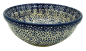 Preview: Polish Pottery Bowl - Pattern Blue Butterfly
