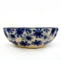 Preview: Polish Pottery shell dish smal cornflower design