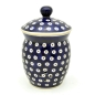 Preview: Polish Pottery garlic jar with lid