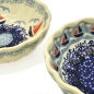 Preview: Polish Pottery Scallop Dish (s) - Pattern Ahoi and Sail