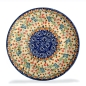 Preview: Polish Pottery side plate Florac pattern