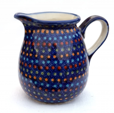 Polish Pottery jug one pint garland design - Kopie
