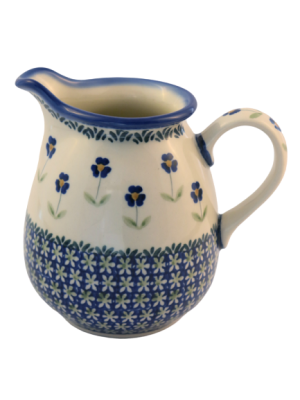 Polish Pottery jug two pints angelika design