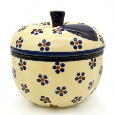 Polish Pottery apple baker Bunzlau Margherita