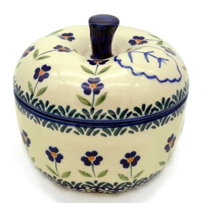 Polish Pottery apple baker Angelika design