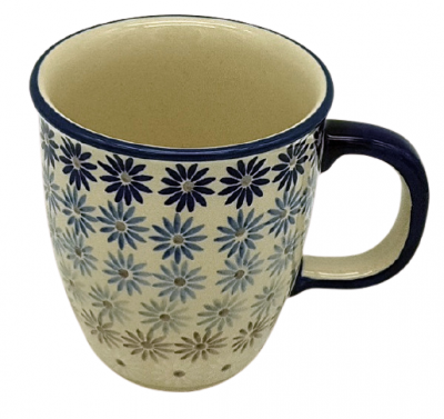 "Polish Pottery mug ""Mars"" Astern design - 2.Qual."