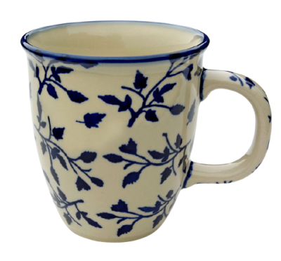 "Polish Pottery ""Mars"" Mug Pattern Lisa"