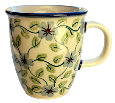 "Polish Pottery Mug ""Mars"" 260 ml Pattern Tabatha"