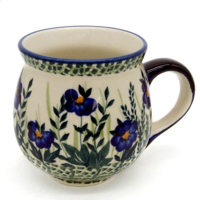 Polish Pottery Belly Mug (m)