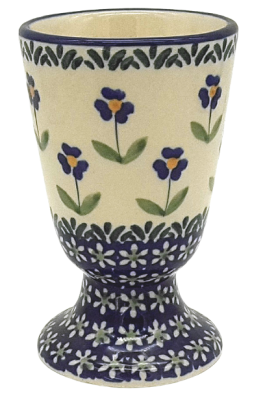 Polish Pottery wine gobelet Angelika design