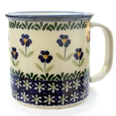Polish Pottery Mug Straight