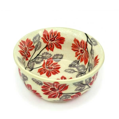 Polish Pottery Bowl - Pattern Angela