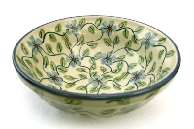 Polish Pottery cereal bowl small, Tabea design