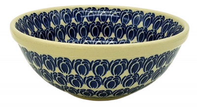 Polish Pottery Bowl - Pattern Lotte
