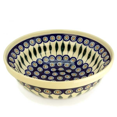 Polish Pottery Salad Bowl