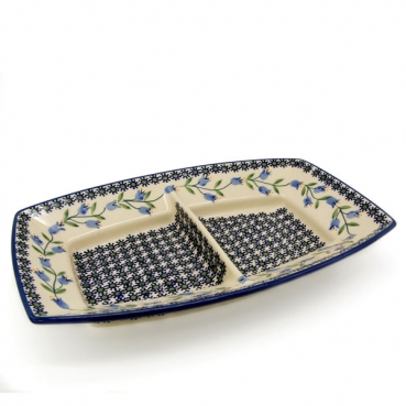 Polish Pottery serving dish 28 Agnes design