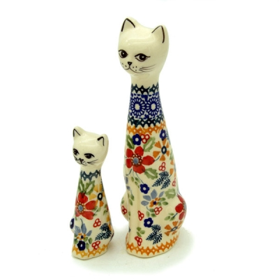 Polish Pottery Cat