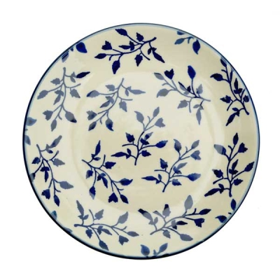 Polish Pottery dessert plate Lisa design