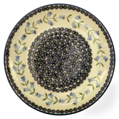 Polish Pottery Dinner Plate - Pattern Agnes