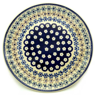 Polish Pottery Dinner Plate - Pattern Leonie