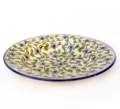 Polish Pottery soup plate view from top T-133-70A.T