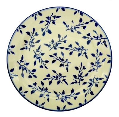 Polish Pottery cake plate dia. 21,5 cm Lisa design
